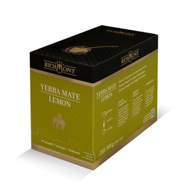 Herbata Richmont - yerba mate lemon - 50szt