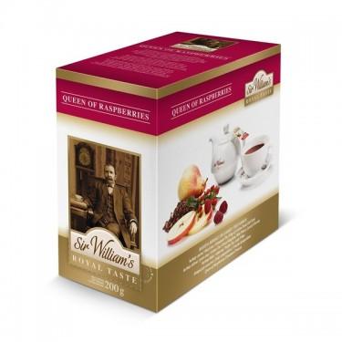 Herbata Sir Williams - queen raspberries - 50 szt