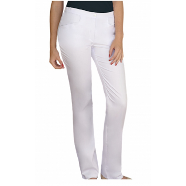 Spodnie kucharskie damskie - rozmiar 44