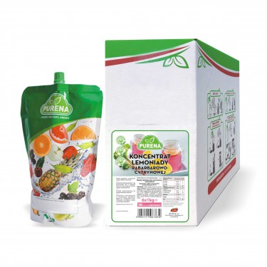 Lemoniada 105 - koncentrat rabarbarowo-cytrynowy (6x1kg)